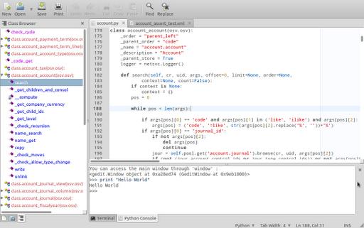 Looking for good Python IDE ?   Open Source Enterprise !