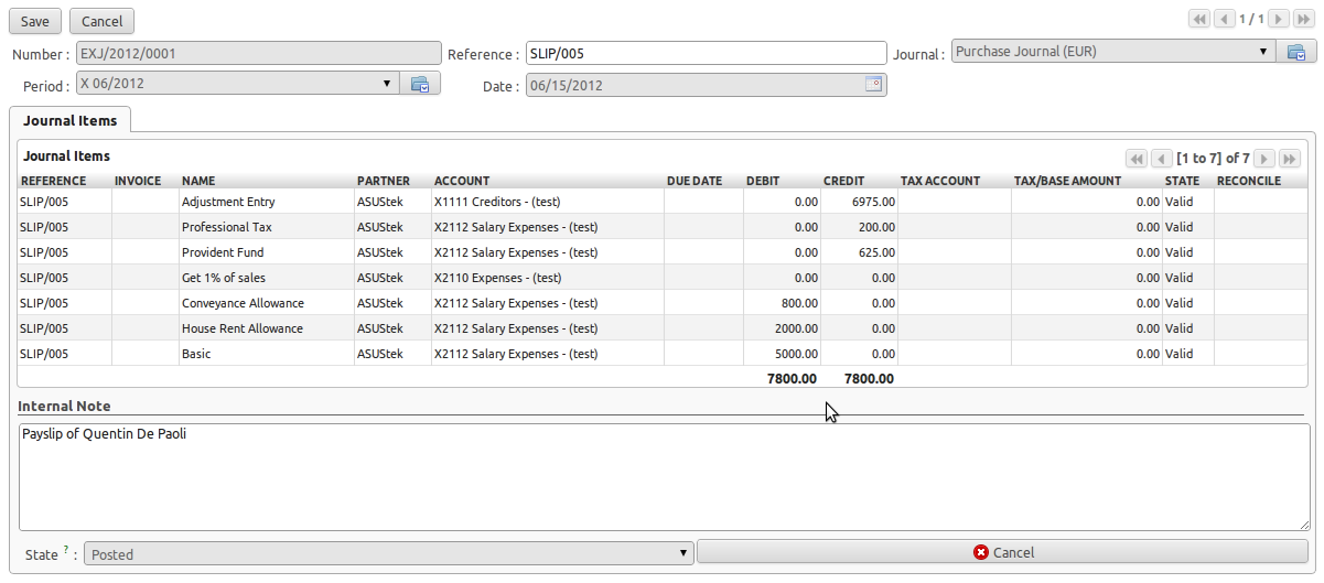 payment excel template