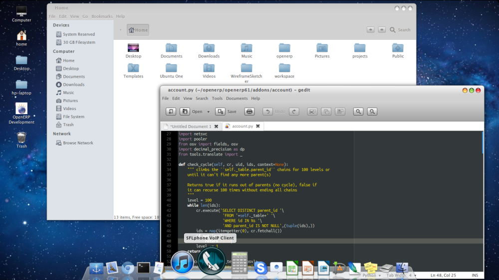 Transform Ubuntu 12.04 into Mac OS X Lion (2/2)