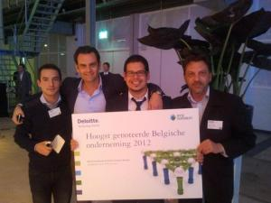 OpenERP WON! #1 on the 8 belgian companies !