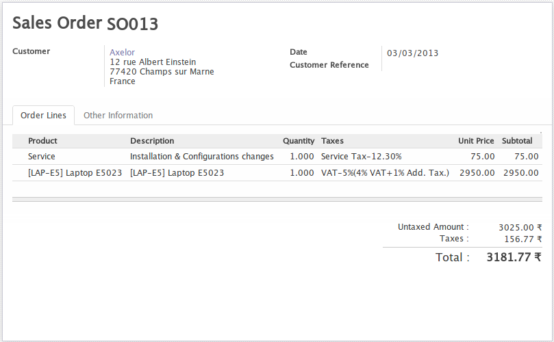 Track delivery of service using OpenERP 7.0 (1/6)