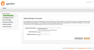 Administrator password