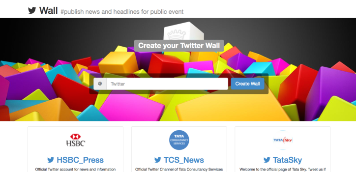 Create Your Twitter Wall